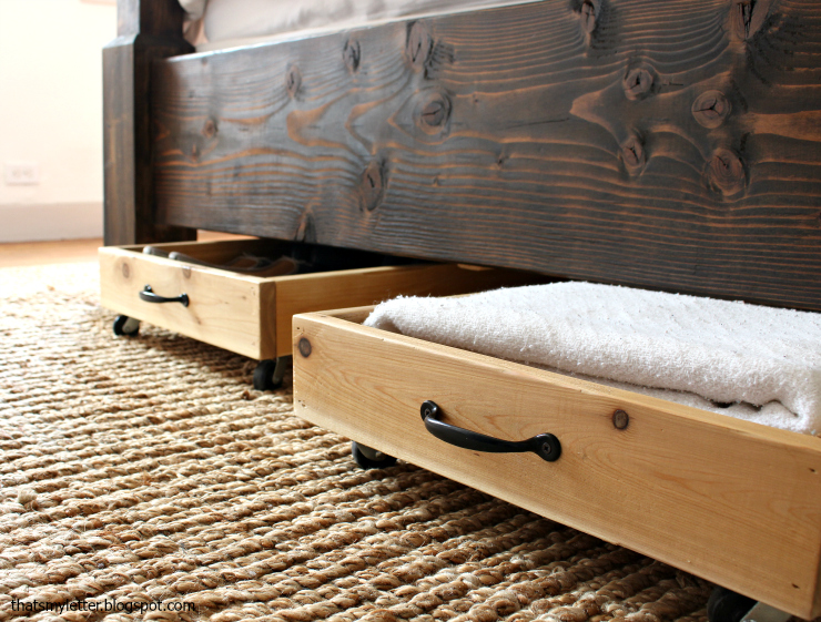 Cedar Underbed Storage 4