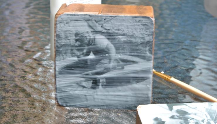 DIY 4x4 Scrap Wood Picture Frame
