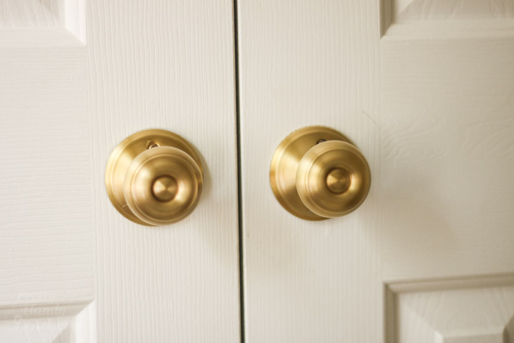 How to Replace Door Knobs and Deadbolts - Pretty Handy Girl