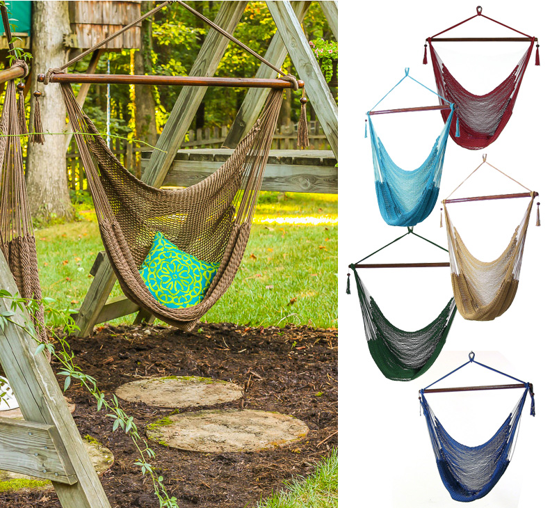 Grown Up Swing Set | Pretty Handy Girl