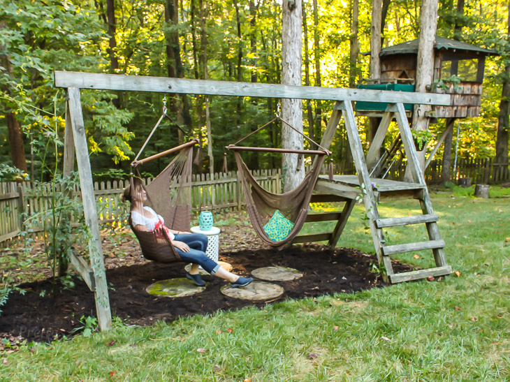 Swing set for grown ups pretty handy girl for How to build a swing set for adults