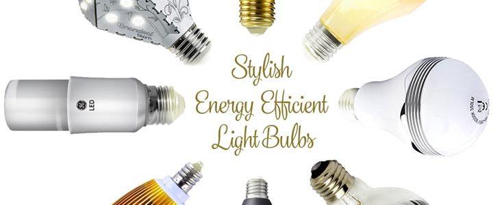 12 Stylish Energy Efficient Light Bulbs