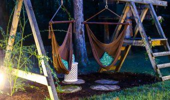 Grown Up Swing Set | Pretty Handy Girl