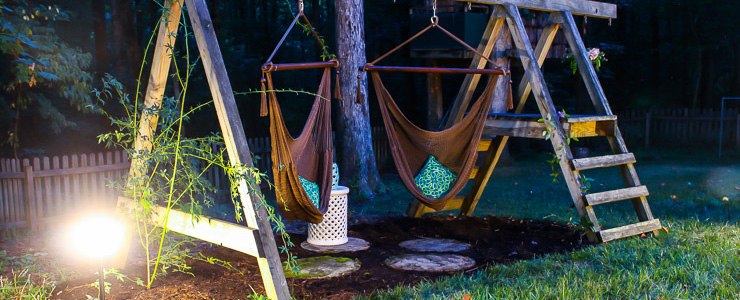 Swing Set for Grown Ups