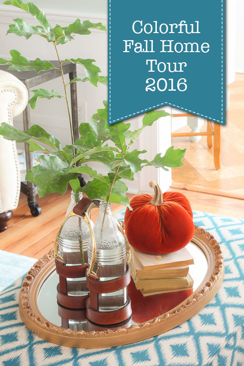 Pretty Handy Girl's Colorful Fall Home Tour