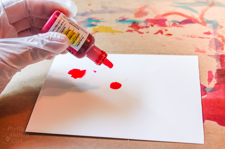 Painting with Alcohol Inks | Pretty Handy Girl
