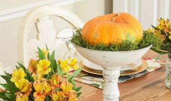 Pretty Handy Girl Fall Tablescape 2016