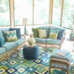 Drab to Colorful Screen Porch Reveal