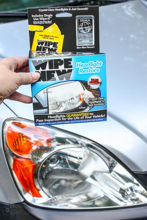 Easiest Way to Restore Automobile Headlights | Pretty Handy Girl