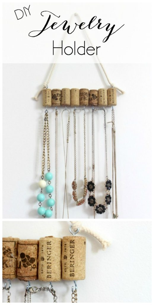 Diy jewelry holder pretty handy girl for Make your own jewelry rack