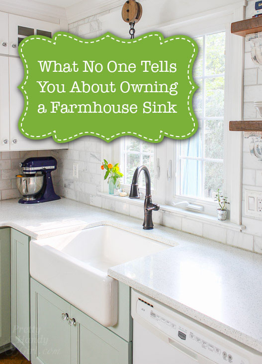 Delightful What No One Tells You About Farmhouse Sinks | Pretty Handy Girl