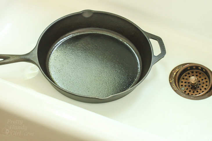 How to Clean a Cast Iron Sink or Tub | Pretty Handy Girl