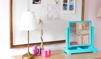 DIY Framed Pinboard