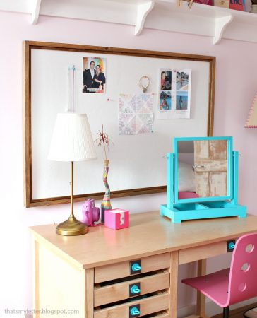 DIY Framed Pinboard | Pretty Handy Girl