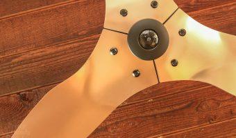 Installing the Most Beautiful Ceiling Fan   Haiku Copper Luxe Ceiling Fan   Pretty Handy Girl