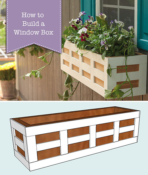 How to Build Window Boxes | Pretty Handy Girl