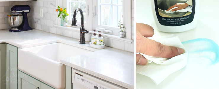 How to Clean a Cast Iron Sink or Tub - Pretty Handy Girl