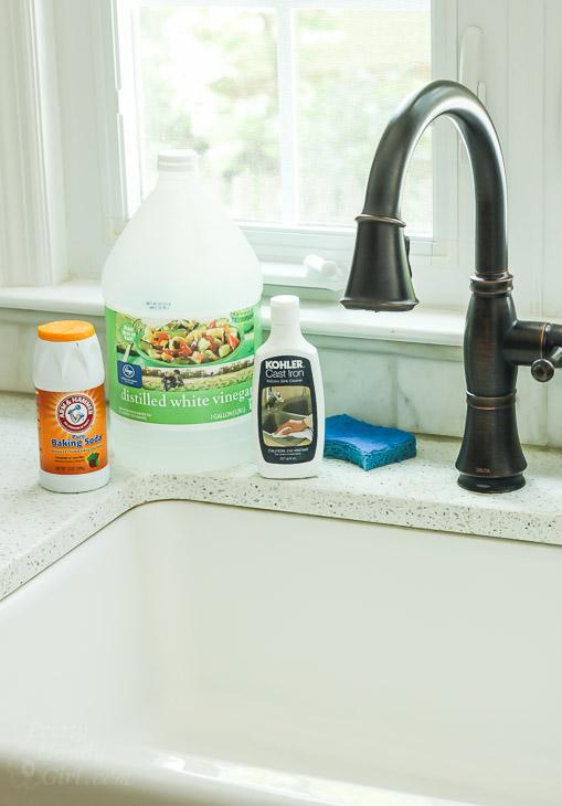 Kohler Cast Iron Kitchen Sink Cleaner | Home design ideas