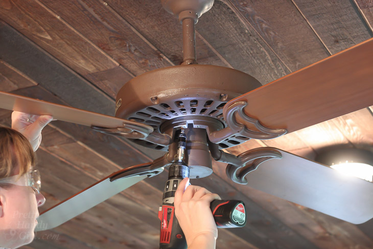 Installing The Most Beautiful Ceiling Fan I Ever Laid Eyes