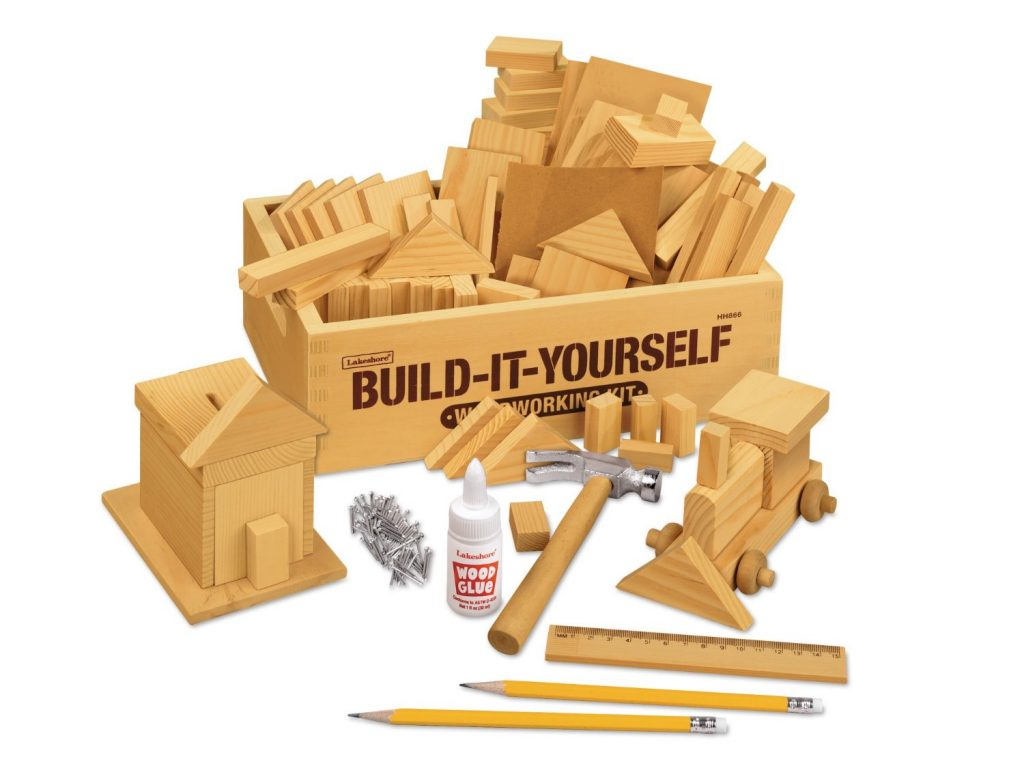 Build It Yourself Child Woodworking Kit