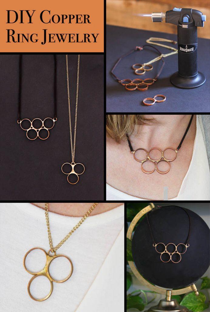 DIY Copper Ring Jewelry | Pretty Handy Girl