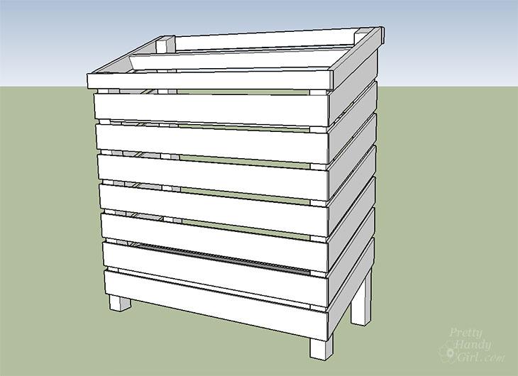 Build a Wood Storage Shed | Pretty Handy Girl