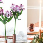 DIY Copper Pipe Centerpiece