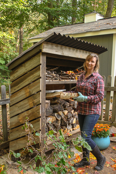 How to Build a Wood Storage Shed - Pretty Handy Girl