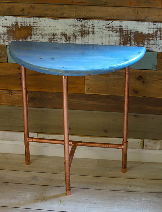 Half Round Copper Table Giveaway | Pretty Handy Girl