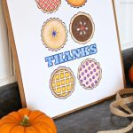 Thanksgiving Pie Free Printable
