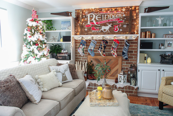 Holiday Home Tour 2016 | Pretty Handy Girl