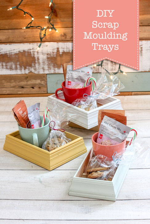 DIY Scrap Moulding Trays | Pretty Handy Girl