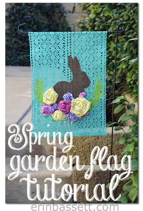 Spring Garden Flag