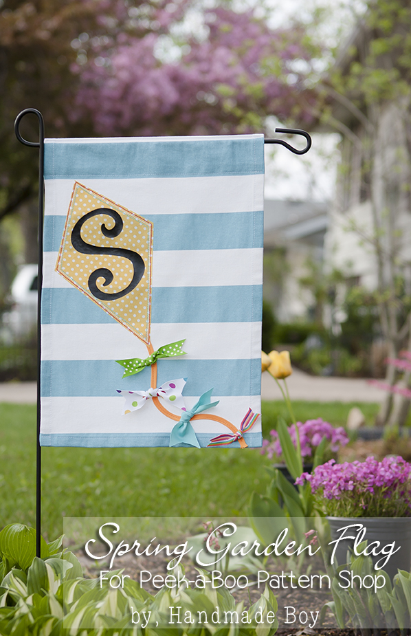 Fall Monogram Garden Flags