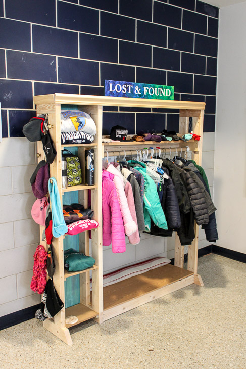 Plans to Build a School Lost & Found Center   Pretty Handy Girl