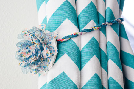 DIY Magnetic Curtain Tie Backs