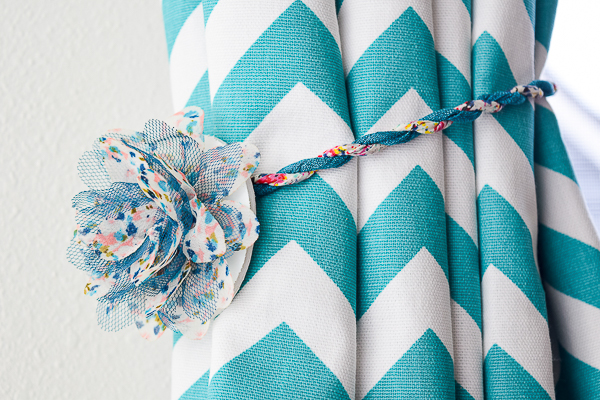 Diy Magnetic Curtain Tie Backs Pretty Handy Girl