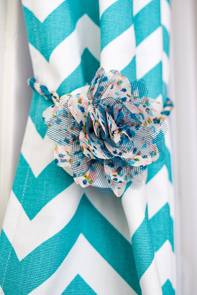 Keep your curtains open without resorting to a hook with these magnetic curtain tie backs!