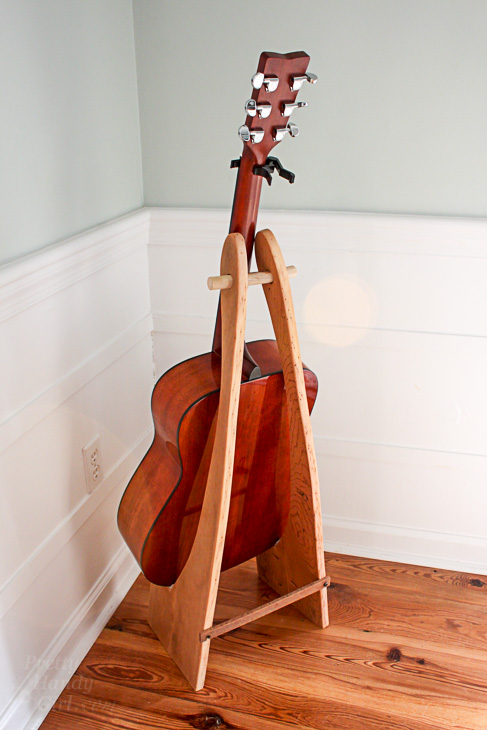 Guitar Stand Designs : How to make a folding guitar stand pretty handy girl