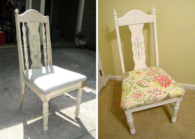 Rescued Trash Chair