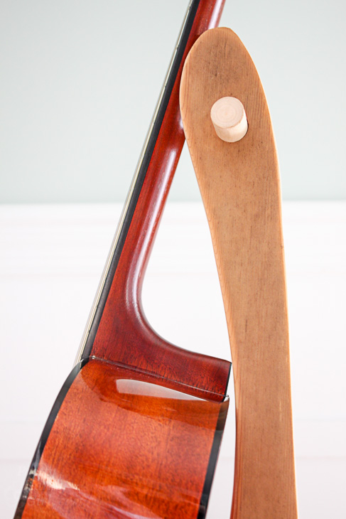 DIY Folding Guitar Stand   Pretty Handy Girl