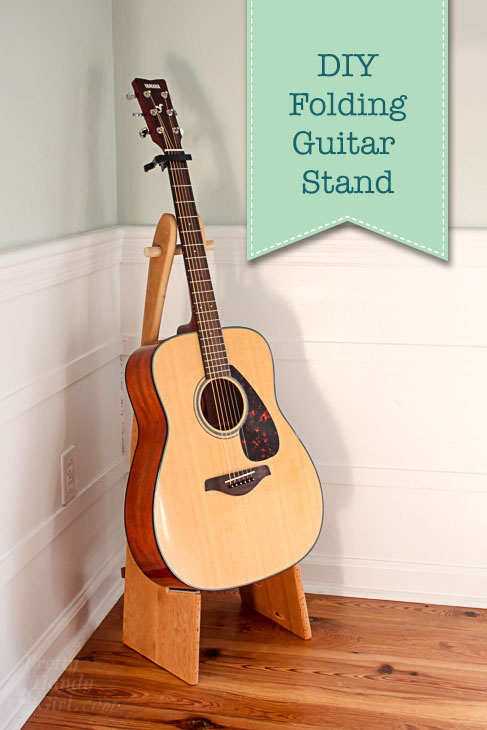 How To Make A Folding Guitar Stand Pretty Handy Girl