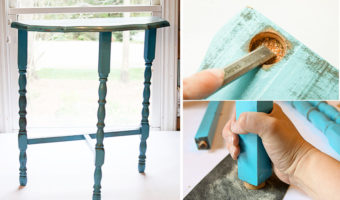 How to Fix a Wobbly Chair or Side Table | Pretty Handy Girl