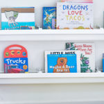 How to Install Rain Gutter Bookshelves