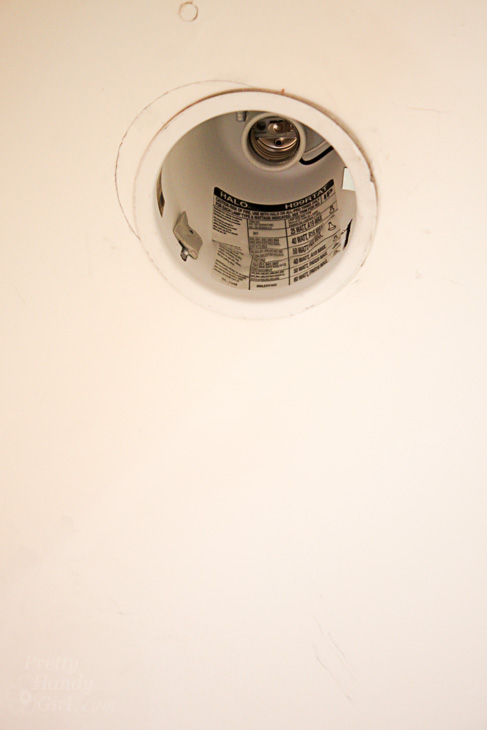 Add energy efficient led fixtures in recessed can lights pretty save aloadofball Image collections