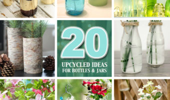 20 Upcycled Recycled Glass Crafts