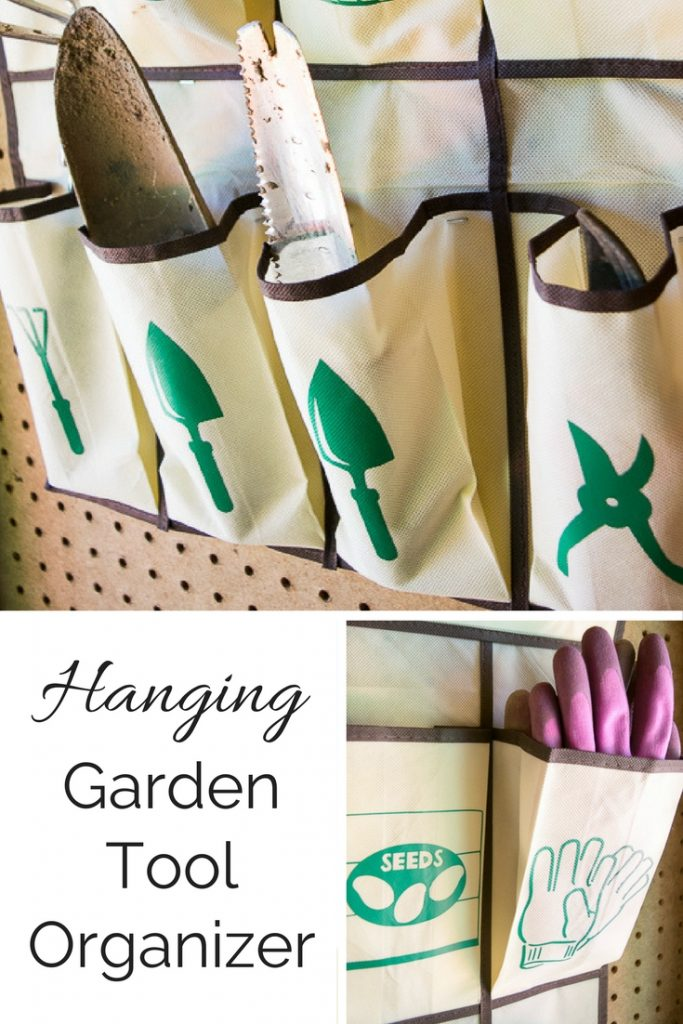 Hanging garden tool organizer pretty handy girl for Pretty garden tools set