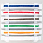 DIY Karate Belt Display