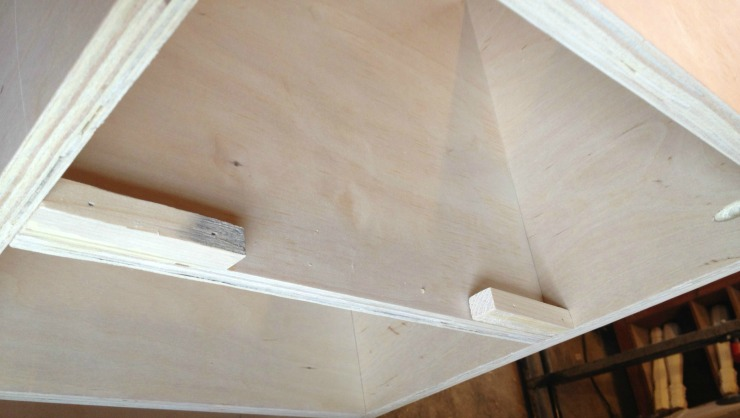 Add stops to the back for drawer