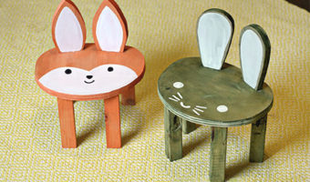 Toddler Animal Stools